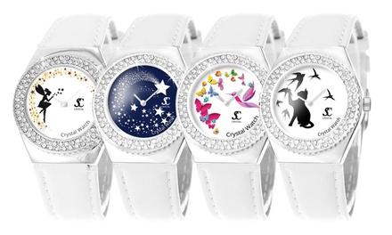 Orologi magici Sc Crystal con 87 cristalli Swarovski® disponibili in vari modelli
