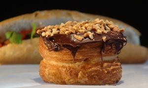 Cafe Burger: Burgers, Kronuts, or Donuts at Cafe Burger (Up to 35% Off)