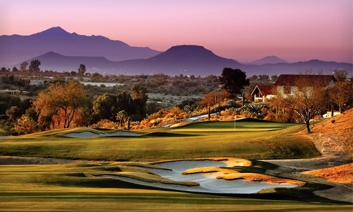 null - Tucson: Stay with $50 Daily Resort Credit at Omni Tucson National Resort in Arizona. Dates Available into September.