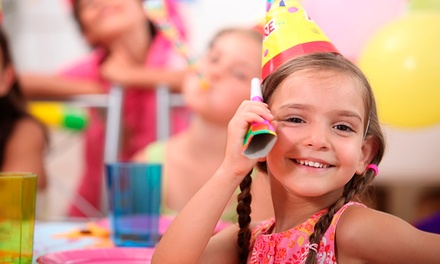 Birthday Party for Up to Nine Kids with Cupcake Bar and Dress-Up at Pout in Pink (Up to 33% Off)