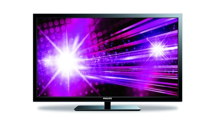 "groupon daily deal - Philips 39"" 1080p LED HDTV (Refurbished). Free Returns."