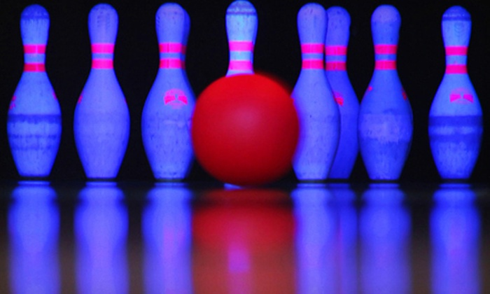 Oak Hills Lanes - Oak Hills: $19 for Cosmic Bowling for Up to Four with Included Shoe Rental at Oak Hills Lanes (Up to $55.80 Value)