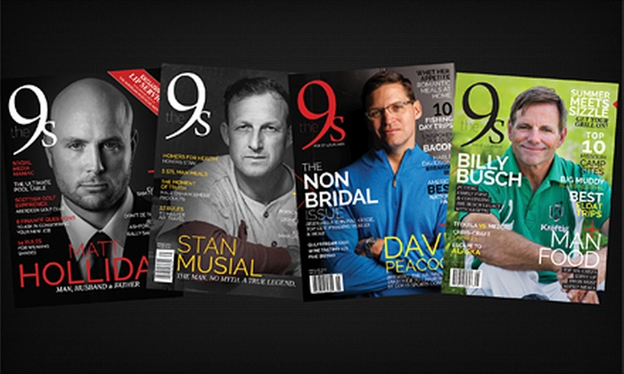"The 9s: $9 for a 12-Issue Subscription to ""The 9s"" Magazine ($18 Value)"