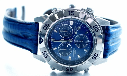 Watches, Watch Batteries or Watch Repair at Fashion Time (Up to 63% Off). Four Options Available.