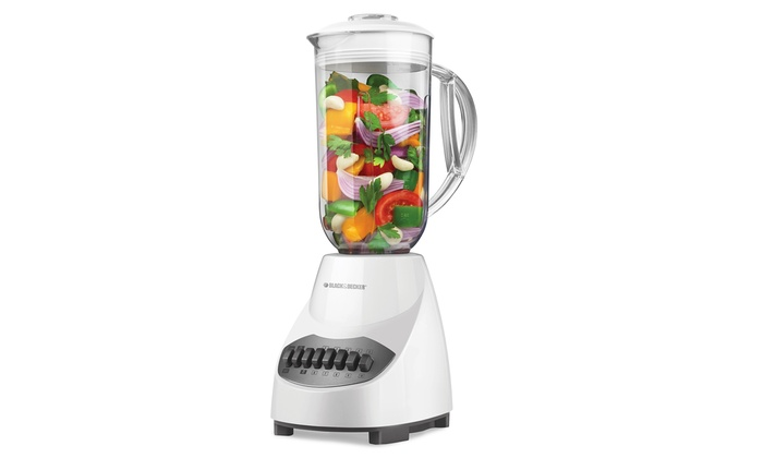 Black & Decker 10-Speed Blender: Black & Decker 10-Speed Blender