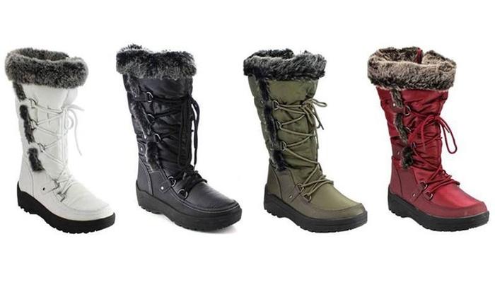 Waterproof Medium-Width Snow Boots