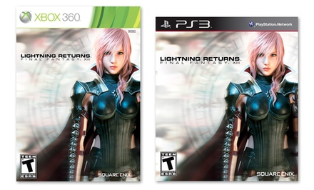 Lightning Returns: Final Fantasy XIII for Xbox 360 or Playstation 3