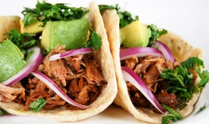 El Indio Mexican Restaurant: Dinner for Two or Four or $15 for $20 Worth of Take-Out at El Indio Mexican Restaurant