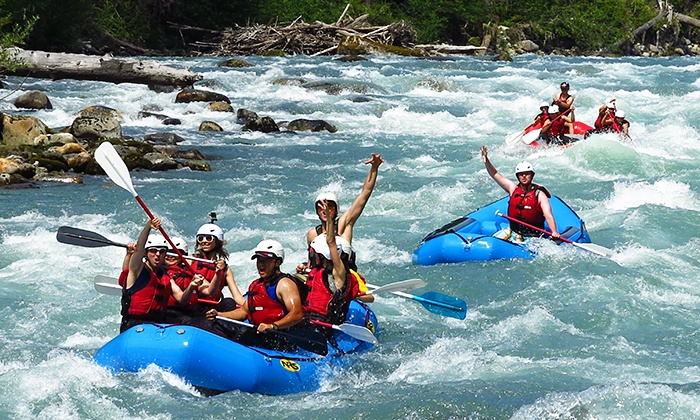 Triad River Tours - Seattle: $33 for a Skagit Whitewater Rafting Trip from Triad River Tours ($66 Value)