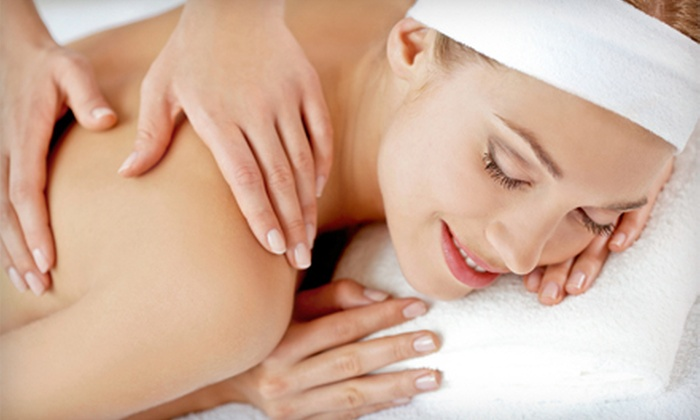 N8 Touch Massage - Desert Ridge: Chiropractic Exam with Massage and Three or Five Spinal-Decompression Treatments at N8 Touch Massage (Up to 80% Off)