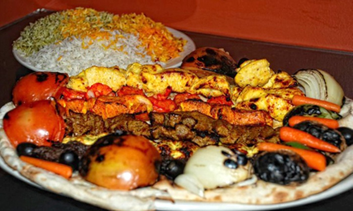 Shish Kabob - Nashville: Middle Eastern Cuisine at Shish Kabob (Up to Half Off). Two Options Available.