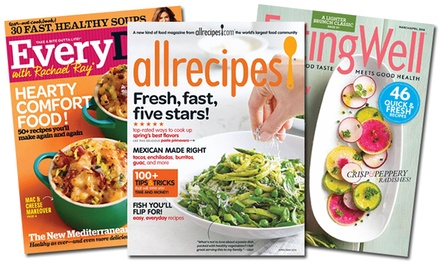 Foodie Magazine Subscriptions from Blue Dolphin. Multiple Magazines Available from $5–$8.