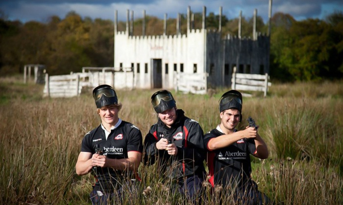 Bedlam Paintball - Multiple Locations: Bedlam Paintball: Experience With Lunch and 100 Balls For Five, Ten or 20 from £5