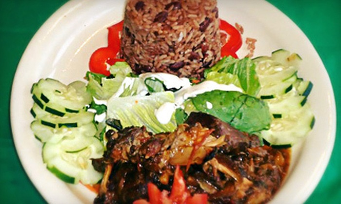 Chef Orlando's Bistro - Busch: Three-Course Dinner for Two, or $15 for $30 Worth of Caribbean Dinner for Two or More at Chef Orlando's Bistro