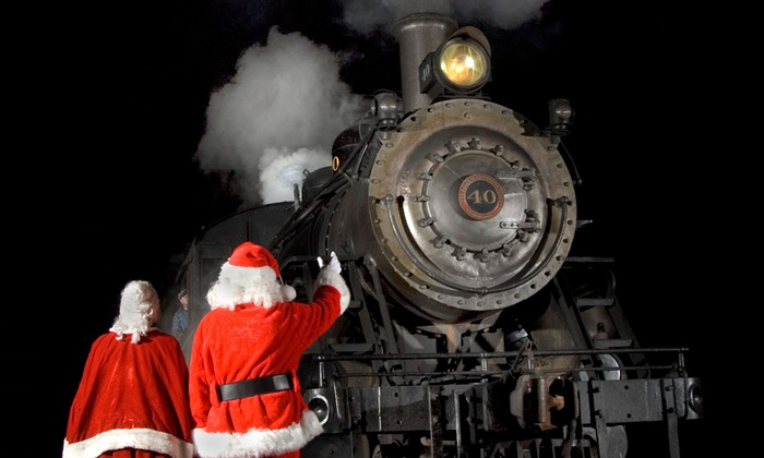 New Hope & Ivyland Railroad - New Hope: $48 for North Pole Express Train Ride for 1 Adult and 1 Child at New Hope & Ivyland Railroad ($83.90 Value)