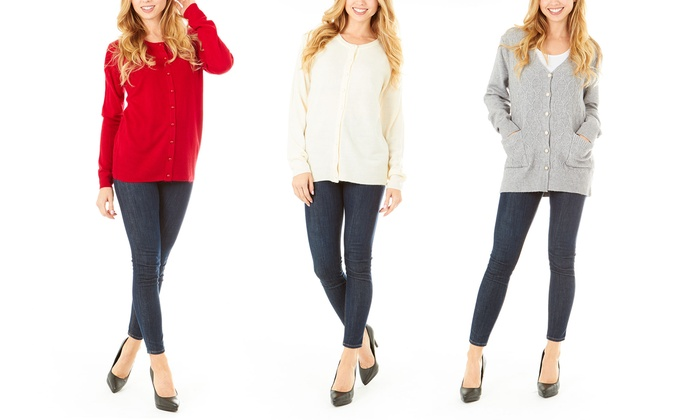 Women's Essential Fall and Winter Cardigan