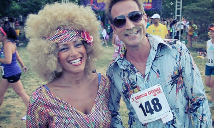 Disco Dash 5k/10k Featuring Village People - Soldier Field: 5K or 10K Registration for Adults or Kids at the Disco Dash 5k/10k- Guaranteed Rate on June 27 (Up to 51% Off)