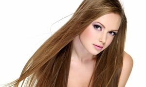 Studio 360 Salon & Spa: One or Two All-Over Color Sessions with Flat-Iron and Deep Conditioning at Studio 360 Salon & Spa (Up to 60% Off)