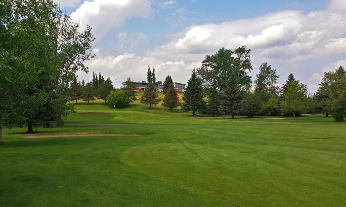 Montgomery Glen Golf Course - Wetaskiwin: Round of Golf for Two with Cart at Montgomery Glen Golf Course (Up to 47% Off)