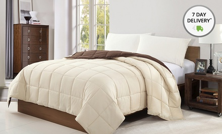 Chic Reversible Down-Alternative Comforter. Multiple Colors and Sizes from $34.99–$39.99. Free Returns.