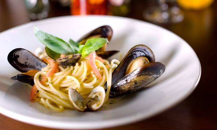 Ristorante i Ricchi - Dupont Circle: Three-Course Italian Dinner with Wine for Two or Four or Two-Course Lunch for Two at Ristorante i Ricchi (Up to 60% Off)