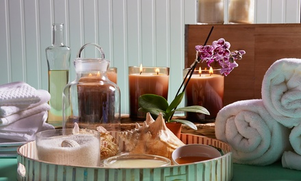 Facial, Body Wrap, or Spa Package at The Nail Spot Spa & Lounge (Up to 52% Off)