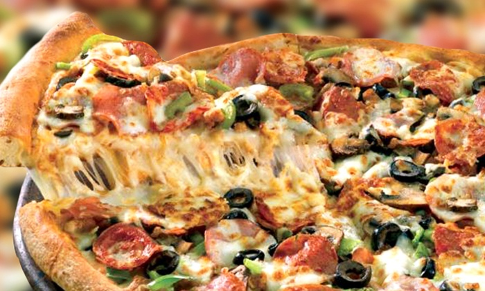 Papa John's - North Las Vegas: Pizza, Fountain Drinks, and Sides for Two or Four at Papa John's (Up to 51% Off)