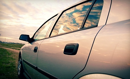 Two-Window or Full-Car Window Tinting at The Tint Shop (Up to 59% Off)