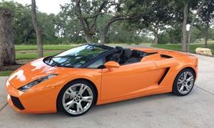 Three Laps In A Ferrari Or Lamborghini In Dallas From Lca (51% Off). Four Dates Available.