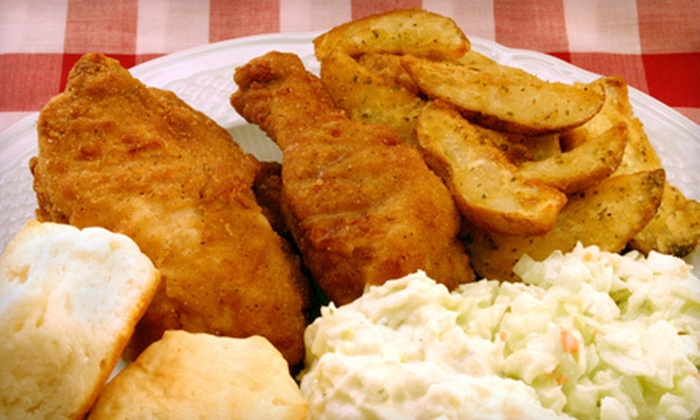 CJ's Southern Soul - Edgerton: Dinner for Two or Four or $50 for $100 Worth of Catering from CJ's Southern Soul
