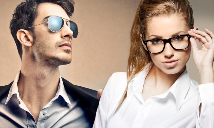 Buono per occhiali da vista o sole con lenti graduate e montature a scelta. Valido in 4 sedi