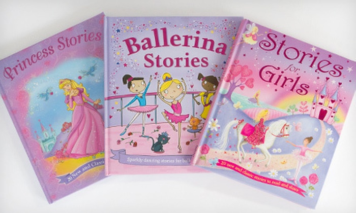 Hardcover Storybook Bundle for Girls: $19 for Three Hardcover Storybooks for Girls ($70.90 List Price)