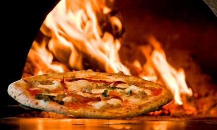 Pizza, Salads, Small Plates, and Drinks at Revo Pizzabar (Up to 40% Off). Two Options Available.