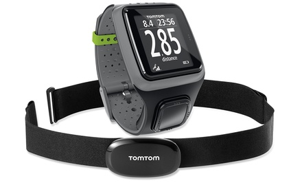 Groupon Exclusive: TomTom Runner Watch with Heart Rate Monitor