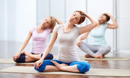 8 o 16 lezioni di yoga