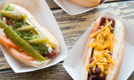 Speciality Hot Dogs at Heavenly Bites (50% Off). Two Options Available.