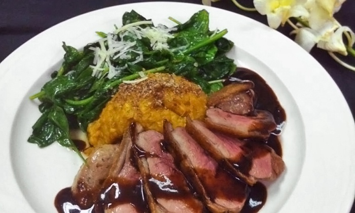 O'Briens Bistro - Northeast Pensacola: $20 for $40 Worth of Seafood and Steak Dinners at O'Brien's Bistro