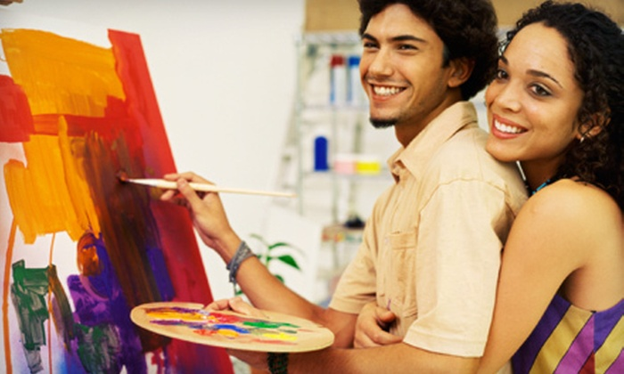 The Riverside Gallery - Snohomish: Intro to Art or Sneaker-Painting Workshop for Two, or $10 for $30 Worth of Artwork or Classes at The Riverside Gallery