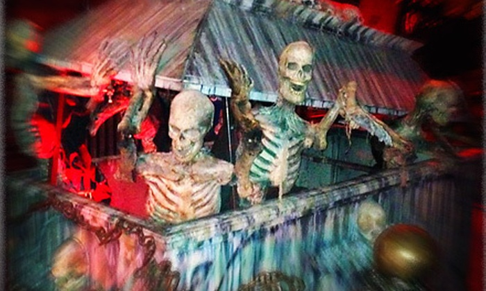 Times Scare - Hell's Kitchen: Haunted-House Tour with Option for Magic Show at Times Scare (Up to 52% Off)