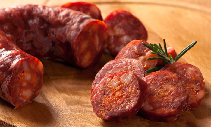 Alves Meats - Central Hamilton: C$25 for Three Four-Packs of Chorizo Pork Sausages for Pick-Up at Alves Meats (C$45 Value)