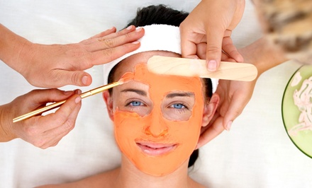 Pumpkin Glycolic Peel with Optional Foot Treatment at O Spa Salon (Up to 54% Off)