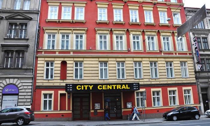 Hotel city central in praga groupon getaways for Hotel city central prague