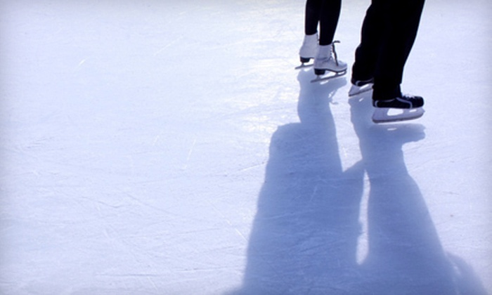 Boulder Creek Events - Transit Village: Ice Skating with Skate Rental for Four or Six from Boulder Creek Events (Up to 56% Off)
