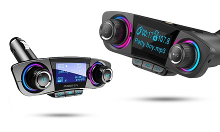One or Two Bluetooth Car Kit with Upgraded BTv4.0 Chipsets