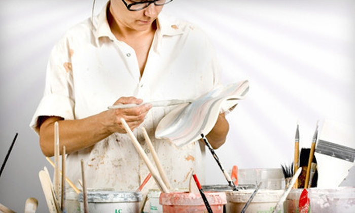 Jenny's Clayhouse - North Buffalo,Downtown: Paint-Your-Own Pottery for One or Two at Jenny's Clayhouse (Up to 53% Off)