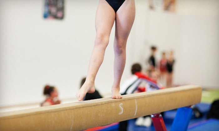 Ozark Mountain Gymnastics - Springfield: $29 for Olympic Gymnastics Package with Four Weeks of Classes and Registration at Ozark Mountain Gymnastics at Ozark Mountain Gymnastics ($69 Value)