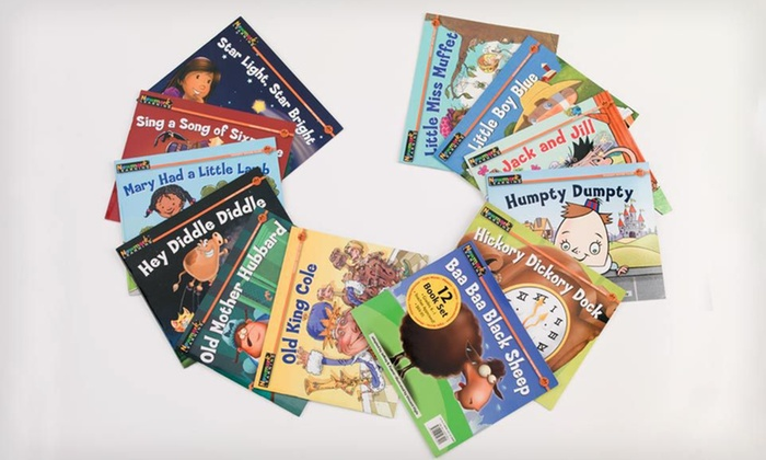 12-Book Set of Nursery Rhyme Tales: $13.99 for a 12-Book Set of Nursery Rhyme Tales ($41.88 List Price)