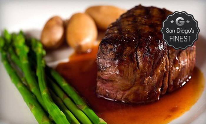 Georges on Fifth - Gaslamp: $25 for $50 Worth of Upscale Steak-House Cuisine and Drinks at Georges on Fifth