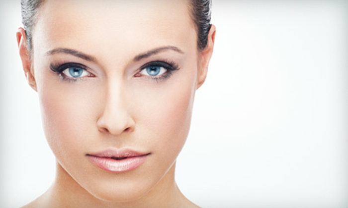 Indulgences - Downtown: Permanent Eyebrow Makeup, Eyeliner, or Both at Indulgences (Up to 51% Off)