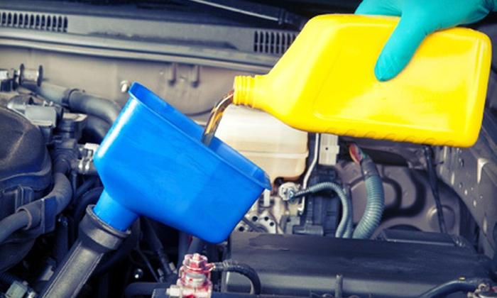 Paragon Motors - Kelowna: One or Three Oil Changes at Paragon Motors (Up to 58% Off)